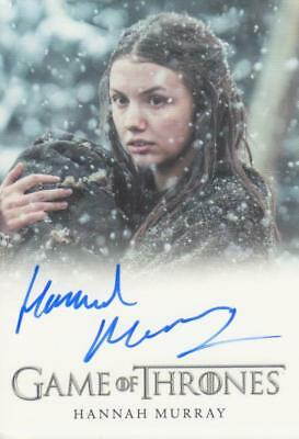 Game of Thrones Full Bleed Style Autograph Card - Hannah Murray as Gilly