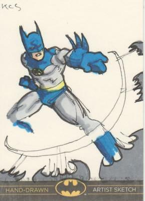 DC Comics Batman: The Legend Color Sketch Card by KCS - Batman