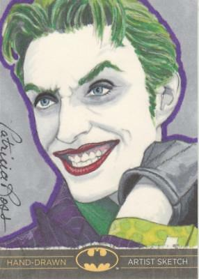 DC Comics Batman: The Legend Color Sketch Card by Ross - Joker