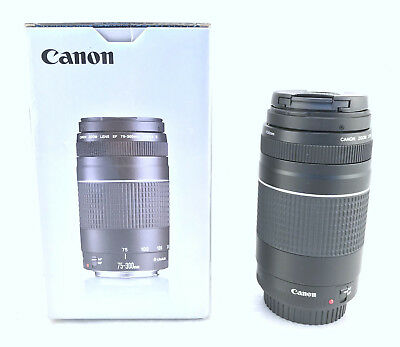 Canon - EF 75-300mm f/4-5.6 III Telephoto Zoom Lens for Canon SLR Cameras