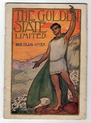 1800s Rock Island System, Golden State Limited to Los Angeles & San Francisco