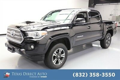 2016 Toyota Tacoma 4x4 TRD Sport 4dr Double Cab 5.0 ft SB 6A Texas Direct Auto 2016 4x4 TRD Sport 4dr Double Cab 5.0 ft SB 6A Used Automatic