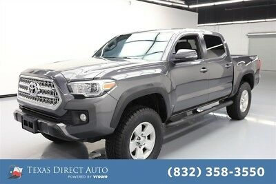 2016 Toyota Tacoma 4x4 TRD Off-Road 4dr Double Cab 5.0 ft SB 6A Texas Direct Auto 2016 4x4 TRD Off-Road 4dr Double Cab 5.0 ft SB 6A Used 4WD