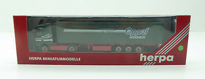 1:87 - HERPA - MB ACTROS - Sattelzug...OPPEL Spedition...OVP   / 2 Q 091