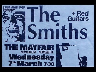"The Smiths Newcastle 16"" x 12"" Photo Repro Promo Poster"
