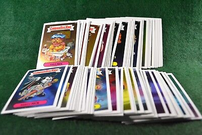 2013 Garbage Pail Kids Chrome Cards 1a to 41b (82 Cards) Series 1 Lot 1171