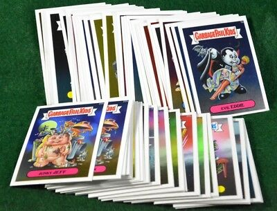 2013 Garbage Pail Kids Chrome Cards 1a to 41b (82 Cards) Series 1 Lot 1173