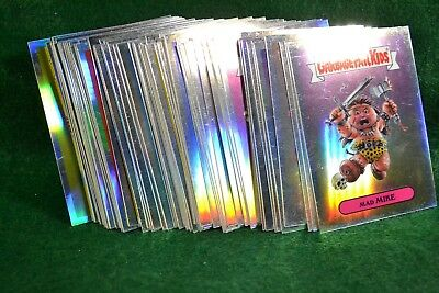 2013 Garbage Pail Kids Topps Chrome Lot of 66 Refractor Cards  Lot 1174