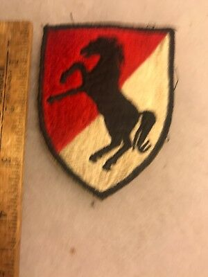 US 11th Armored Cavalry Regiment Patch Theater Made (A806