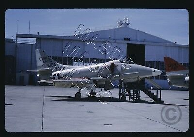 35mm Kodachrome Aircraft Slide - A-4F Skyhawk BuNo 149969 CHINA LAKE in May 1970
