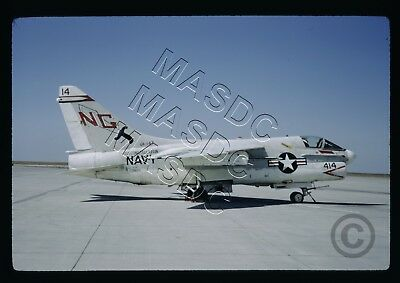 35mm Kodachrome Aircraft Slide - A-7E Corsair BuNo 156828 NG414 VA-147 -Mar 1971