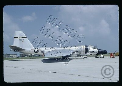 35mm Kodachrome Aircraft Slide - RB-57F Canberra 63-13291 58th WRS MacDill 1971