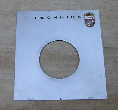 Linhof III 3 4x5 Technika flat  Lens board with copal 1 41.8mm hole