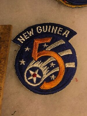 US 5th Air Force Patch New Guinea Japanese Made (A839
