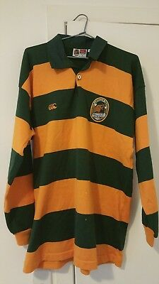 Wallabies Heritage Style Rugby Union Supporters Jersey -Canterbury Size L