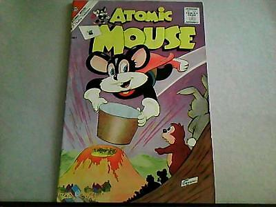 Atomic Mouse #44  Jon D'Agostino  (Charlton June 1961)  Bagged/Boarded