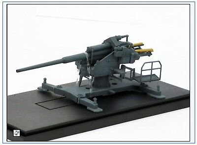 AS72087 128mm Flak 40 mit Bettung 40, 1942,Fertigmodell, Modelcollect 1:72,NEU&