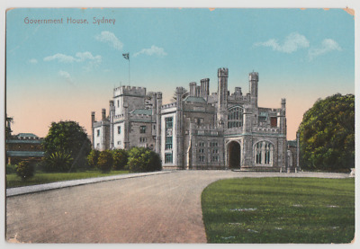 Australia NSW NEW SOUTH WALES Government House SYDNEY postcard c1910s
