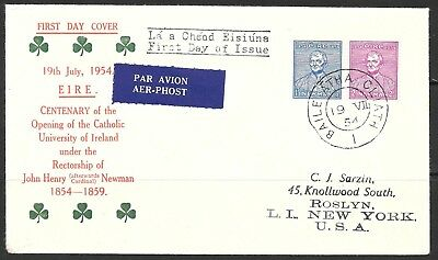 Cc________Ireland First Day Cover #153-54
