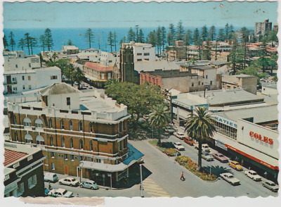 Australia NSW NEW SOUTH WALES The Corso MANLY Sydney Nucolorvue postcard 1976
