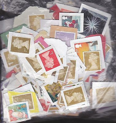 GB COLLECTION. MINT NO GUM UNFRANKED STAMPS. 1st.
