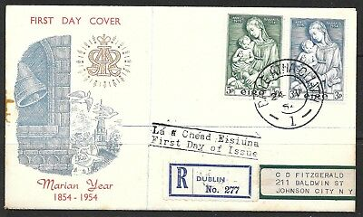 Cc________Ireland First Day Cover #151-52