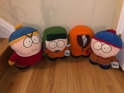 """Comedy Central South Park Kenny Kyle Cartman & Stan 12"""" Dolls Fun 4 All"""