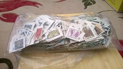 GB COLLECTION. MINT NO GUM UNFRANKED STAMPS. mixed. no.1.
