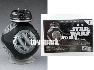 BANDAI S.H. Figuarts Star Wars The Last Jedi DROID #01 BB-9E EXCLUSIVE figure