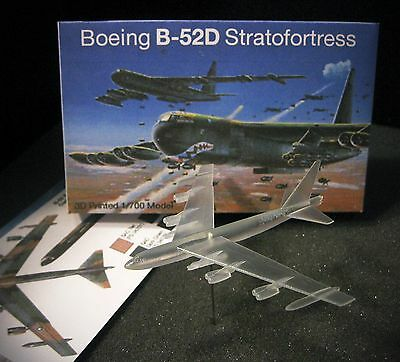 1/700 Boeing B-52D Stratofortress 'Buff' - 3D Printed - Vietnam / Cold War SAC