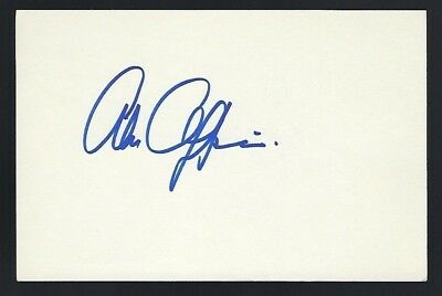 "Alan Oppenheimer signed autograph 4""x 6"" He-Man Masters of the Universe Skeletor"