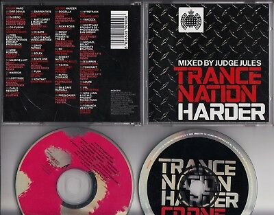 Ministry Of Sound Trance Nation Harder 2-Cd Mixed By Judge Jules