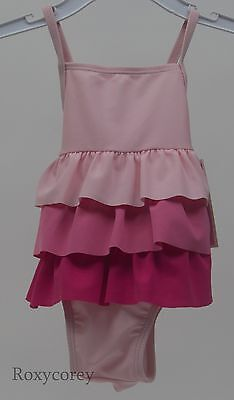 Circo Infant Girls One Pink Bathing Suit Swimsuit Size 12 months NWT