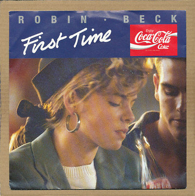 """7"""" Single - Robin Beck, First Time"""