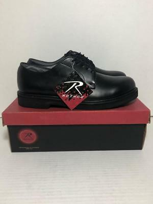 Rothco 5085 Black Soft Sole Leather Oxford Uniform Dress Shoes Size 13R 0f946388a5c
