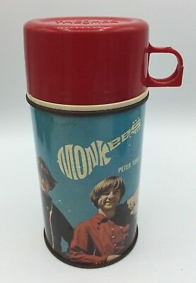 Vintage 1967 Thermos Brand Monkees Thermos Very Good Condition