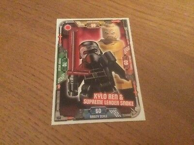 Lego Star Wars Trading Card Collection - 150 Kylo Ren & Supreme Leader Snoke