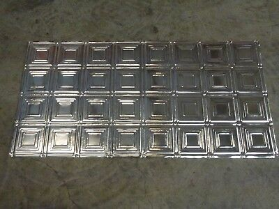 6-04 Turn of the Century Design (10) TEN 2' x 4' Tin Plated Steel Sheets. WoW!