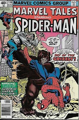 Marvel Tales No.116 / 1980 Reprints Amazing Spider-Man No.139 / Ross Andru