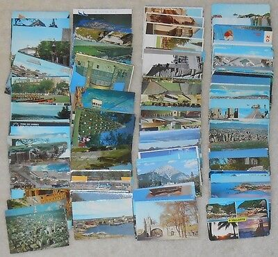 229 LARGE MIX of  postcards - 3x5 sized many places  #86  all over the world!!