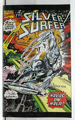 1994 The Silver Surfer Mini Drakes Marvel Comic - Still Sealed!!!