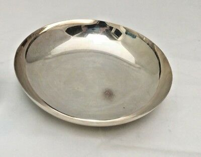 """Vintage9""""  low Silver-plate bowl Reed & Barton"""