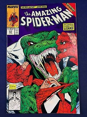 Amazing Spider-Man #313 Marvel Comics Lizard appearance Todd McFarlane Cover