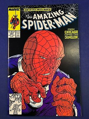 Amazing Spider-Man #307 Marvel Comics Chameleon appearance Todd McFarlane Cover
