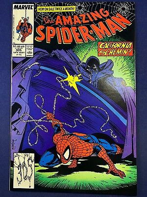 Amazing Spider-Man #305 Marvel Comics Todd McFarlane Cover