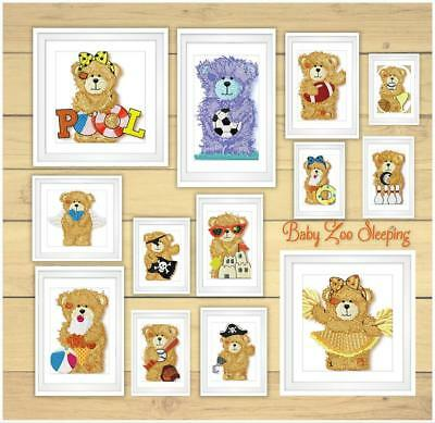 Tattered Teddy  16  Machine Embroidery Designs Cd