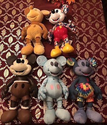 Mickey Mouse Memories Plush Set February, March, April, May, June