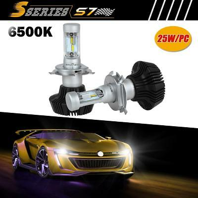 H4 HB2 8000Lumen Headlamp High Low Beam LED Bulb Replace HID BroView S Series S7