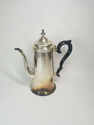 Vintage Coffee Pot Silver Plated Webster Wilcox Intl - IS