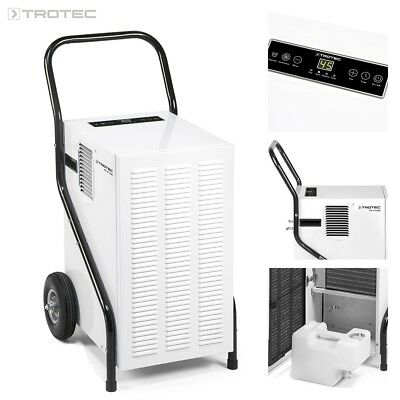 TROTEC Déshumidificateur d'air professionnel TTK 171 ECO | Mobile | Humidité